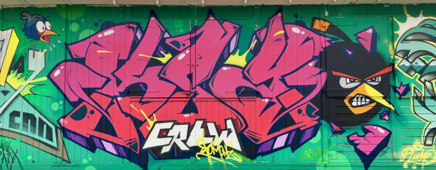 Moxe / Brussels / Walls