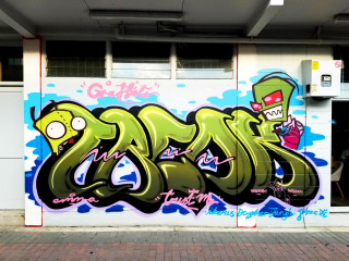 Wongi Freak DTR / Walls
