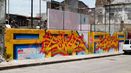 Eskae & Hoacs / Panama City / Walls