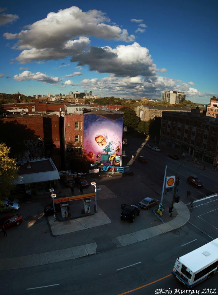 Ashop Mural In Ndg Bombing Science
