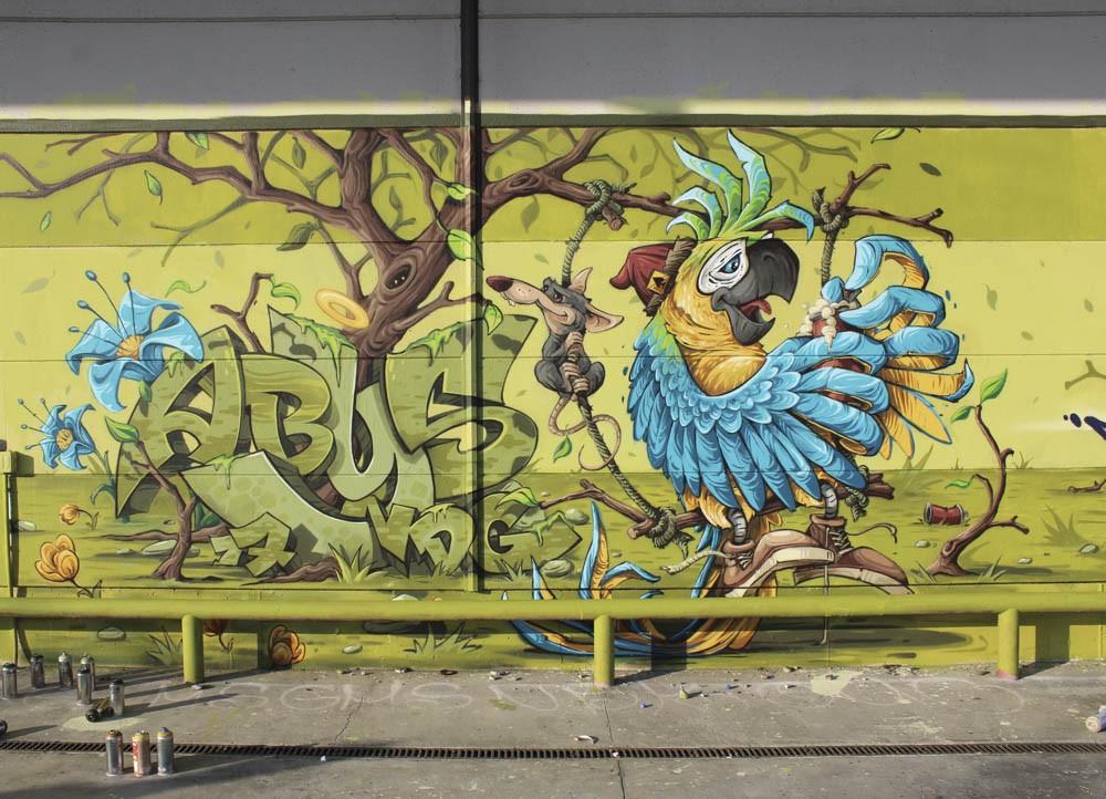 Abys (Nancy) Graffiti Writer Spotlight   Bombing Science