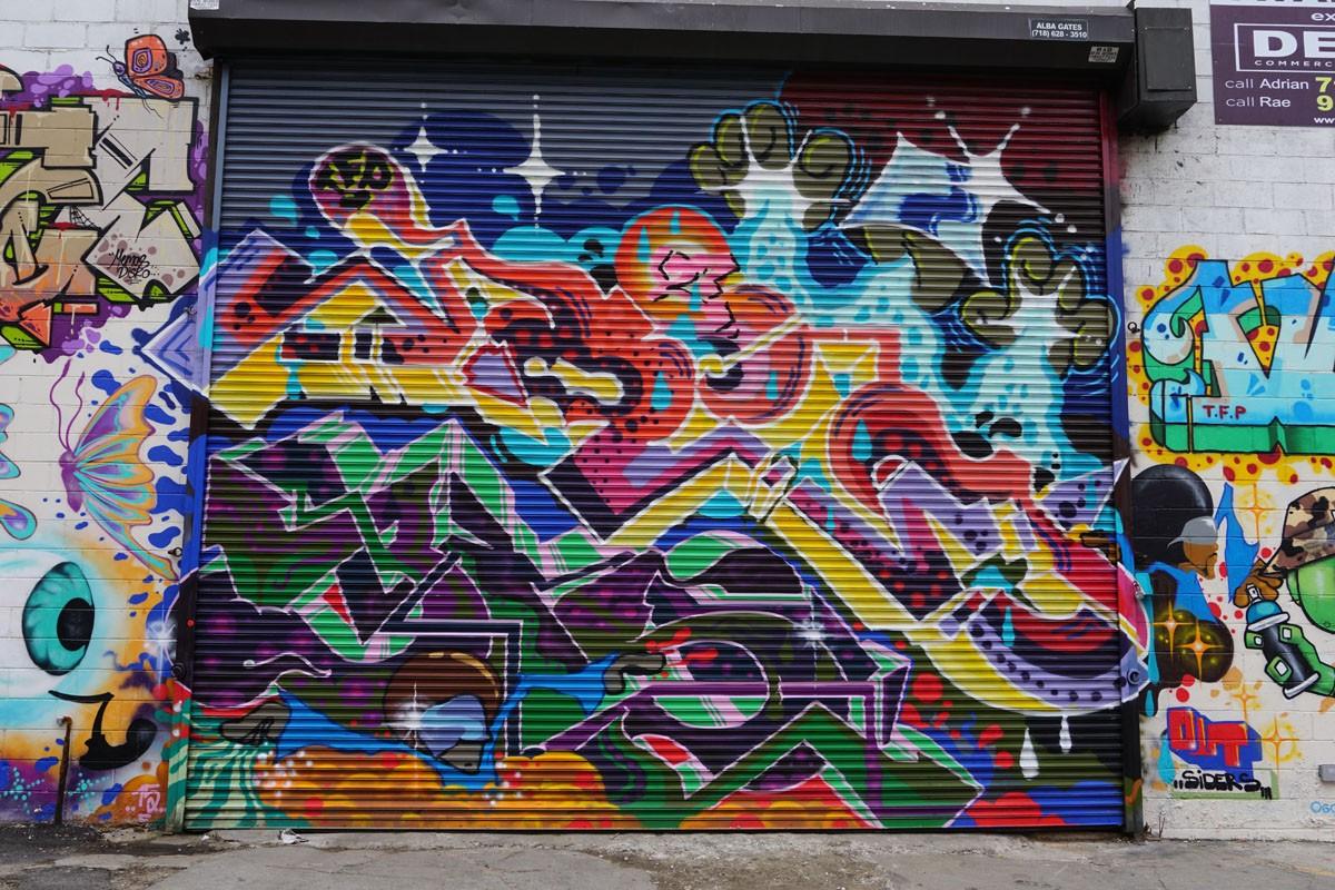 Art In The Streets Of Bushwick Graffiti Street Art Bombing Science