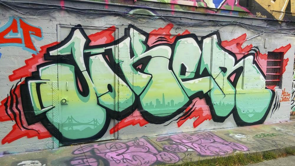 Joker Icp San Francisco Graffiti Writer Spotlight Bombing Science