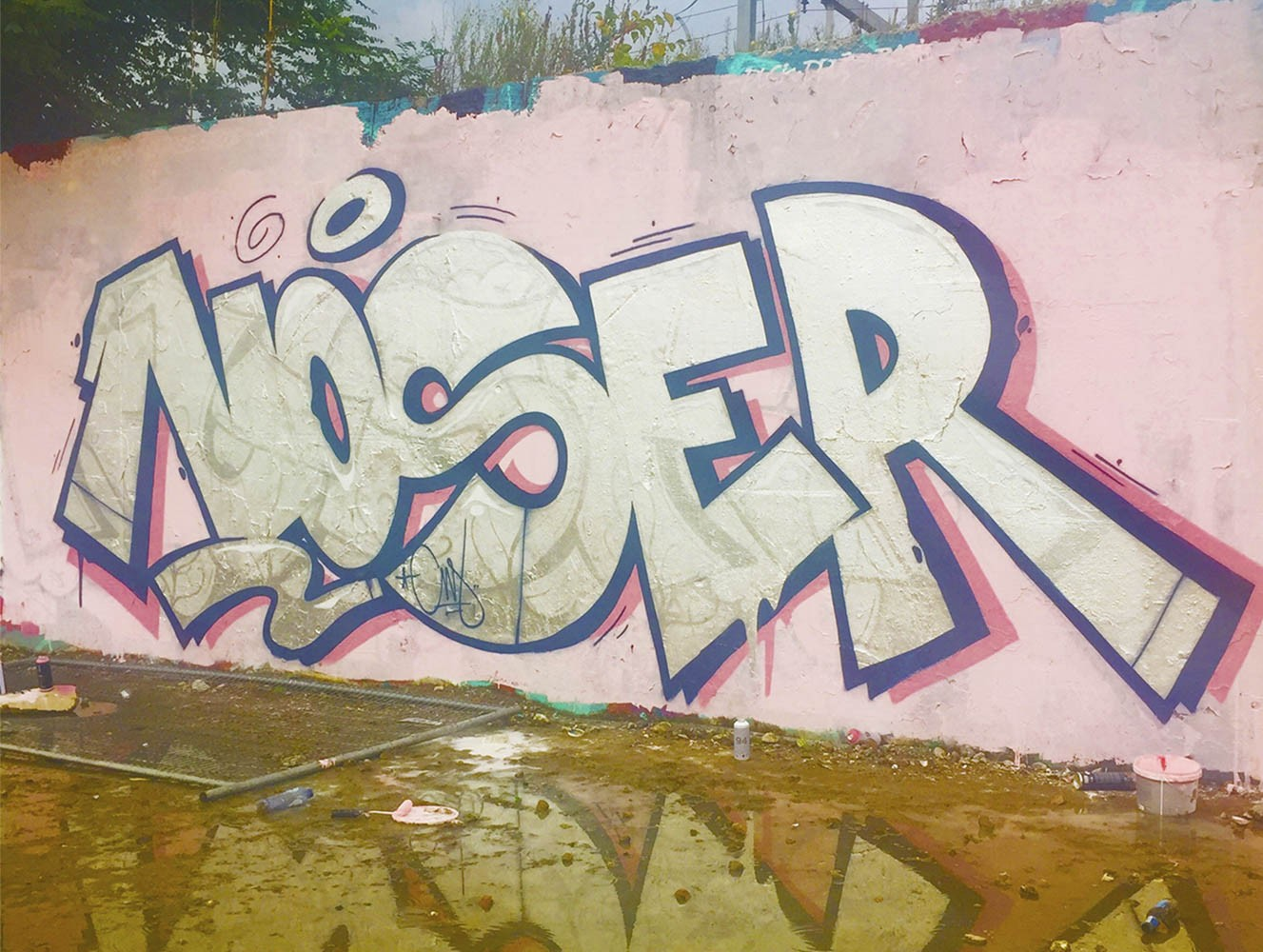 Graffiti wall amsterdam - Noser Amsterdam Walls